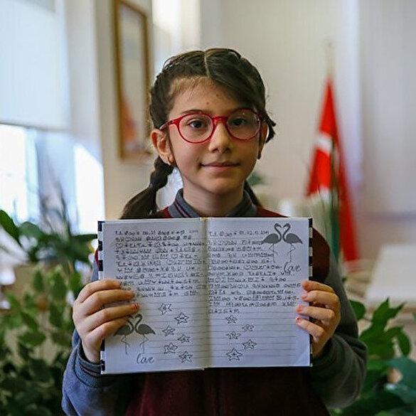 Dünya matematik şampiyonu Elanur bilim insanı olmak istiyor