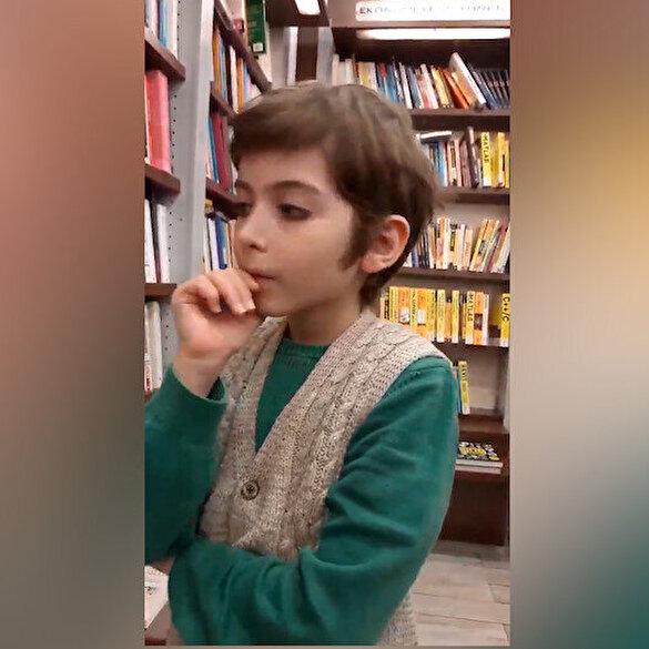 Küçük filozof sosyal medyayı salladı