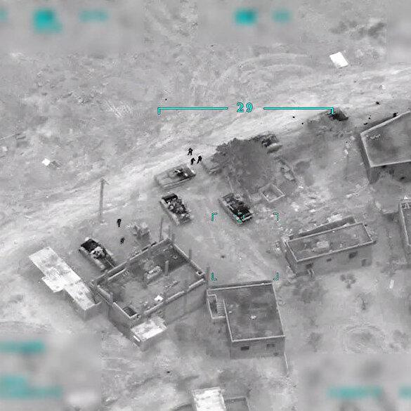Türk ordusu rejim hedeflerini sabaha kadar bombardımana tuttu