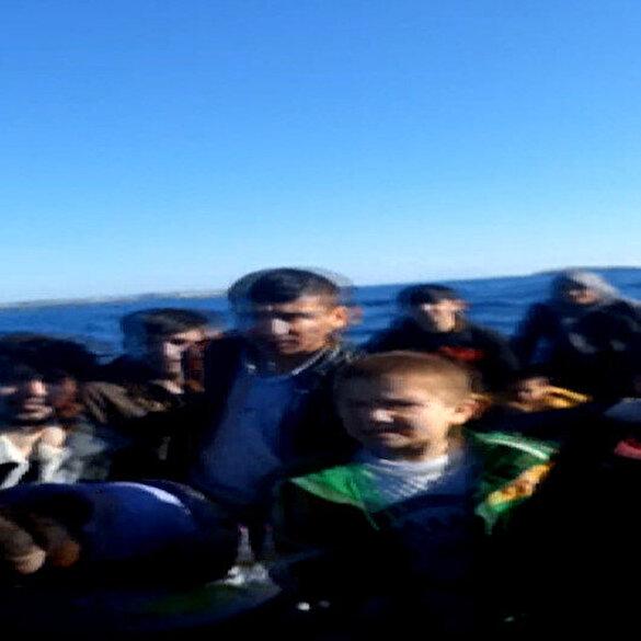 Yunan botları göçmen botundaki Suriyeli insanları ölüme terk etti
