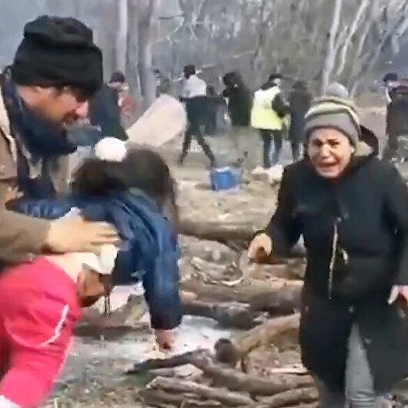 Sığınmacılara Yunan zulmü