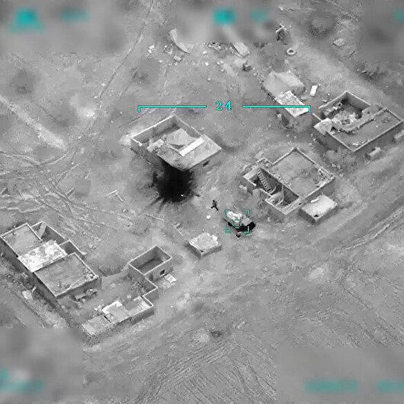 SİHA'lar Suriye'de 10 hedefi daha yok etti