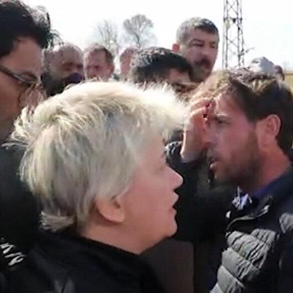 Yunan gazeteciye sığınmacıdan tokat gibi cevap