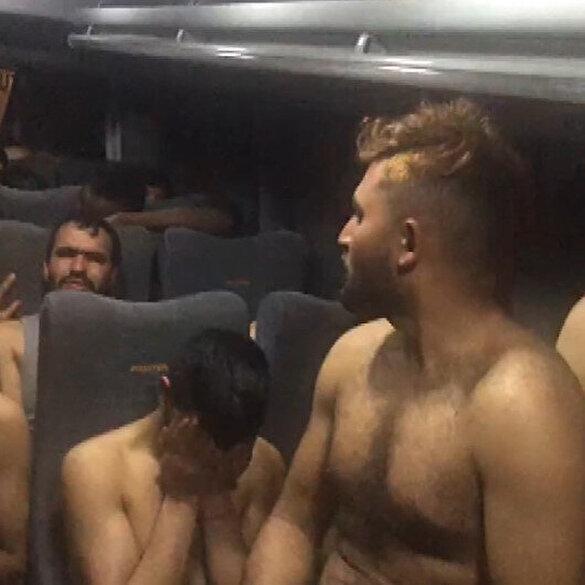 Έλληνες στρατιώτες στέλνουν γυμνούς μετανάστες που νίκησαν