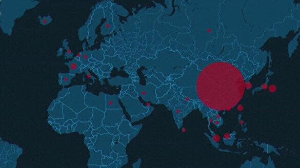 Koronavirüs dünyaya yayılmaya devam ediyor