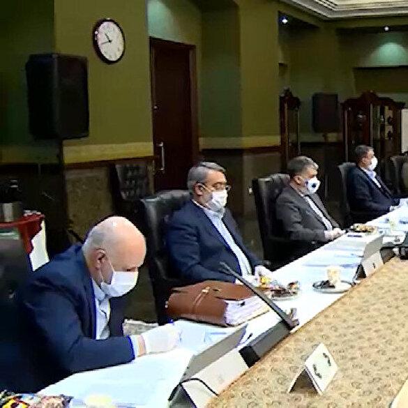 İran'da gerçekleştirilen Bakanlar Kurulu Toplantısı'na bu görüntüler damga vurdu