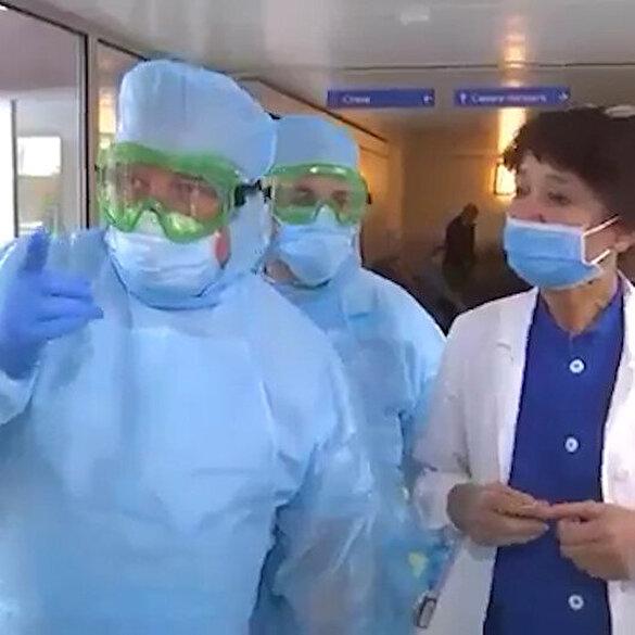 Rus askeri doktorlar Bergamo hastanelerinde göreve başladı