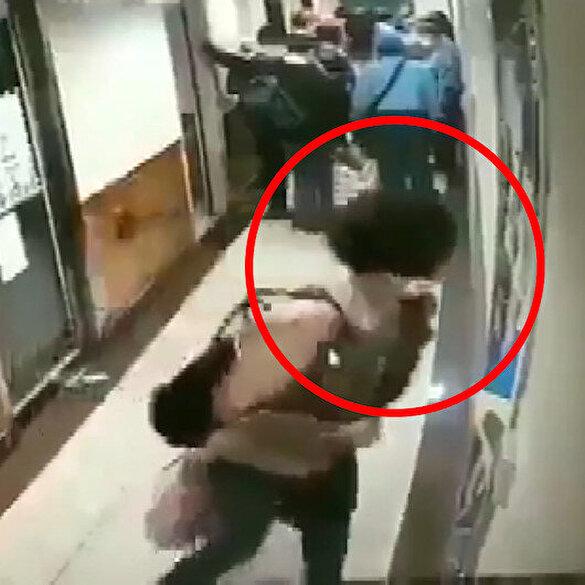 İspanya'da şoke eden görüntü: Çinli kadın metro istasyonunda panolara tükürdü
