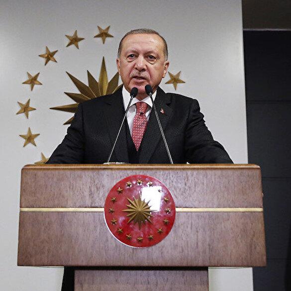 Cumhurbaşkanı Erdoğan: Hiçbir virüs bizim birliğimizden, beraberliğimizden güçlü değildir