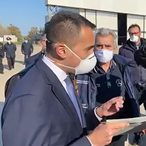 Türkiye'nin tıbbi yardımını teslim alan İtalyan Bakan: Bunu hiç unutmayacağız