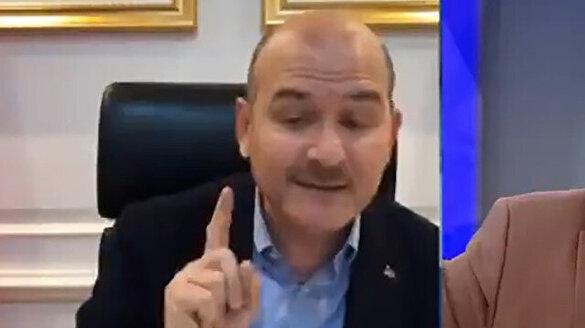 Bakan Soylu izinsiz bağış toplayanlara tepki gösterdi: Siz başka bir devlet oluşturmak istiyorsunuz