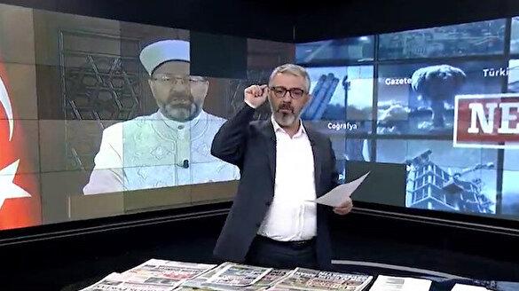 Erem Şentürk'ten Ali Erbaş'a destek çağrısı: Odatv'den mi korkuyorsunuz Allah'tan mı?