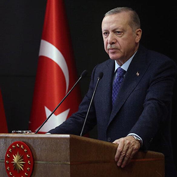 Cumhurbaşkanı Erdoğan: Ayasofya'da Fetih Suresi okunacak