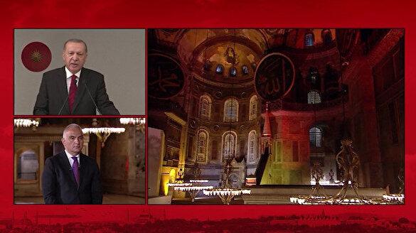Cumhurbaşkanı Erdoğan: Gençlerimize, ecdatları Fatih'e layık bir Türkiye bırakacağız