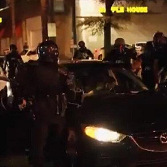 ABD'den bir şiddet görüntüsü daha: Bir siyahi vatandaşa karşı 18 polis