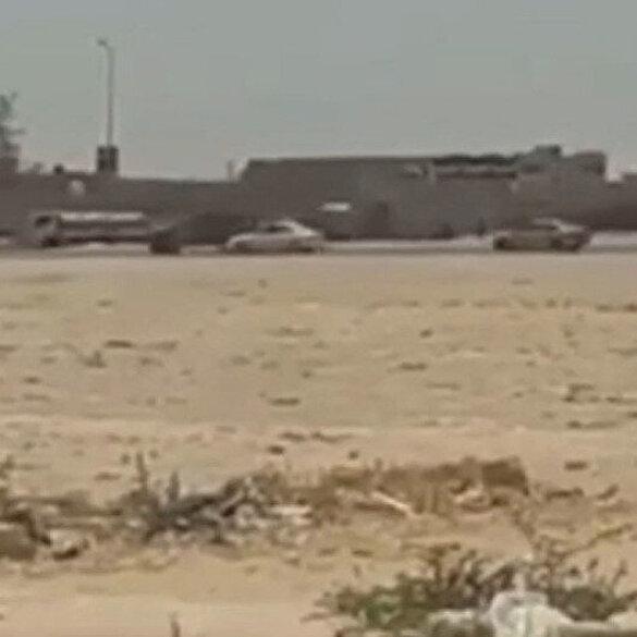 Sirte'de bulunan Hafter militanları kaçtı