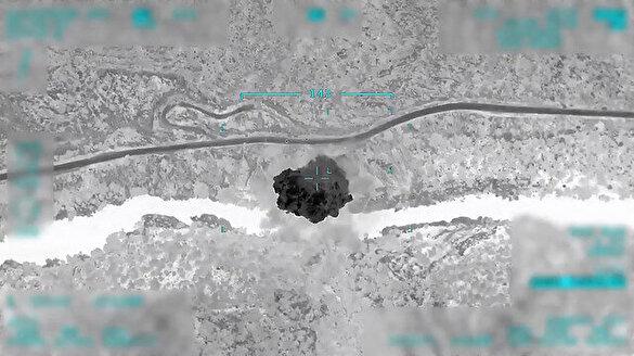 Pençe-Kartal operasyonuna ait ilk görüntüler