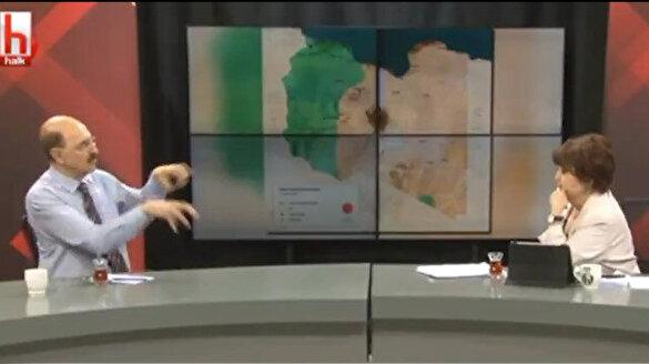 Halk TV'de skandal sözler: Türkiye Mısır ve Sudan'ı karıştırmak için Libya'da üs kuruyor