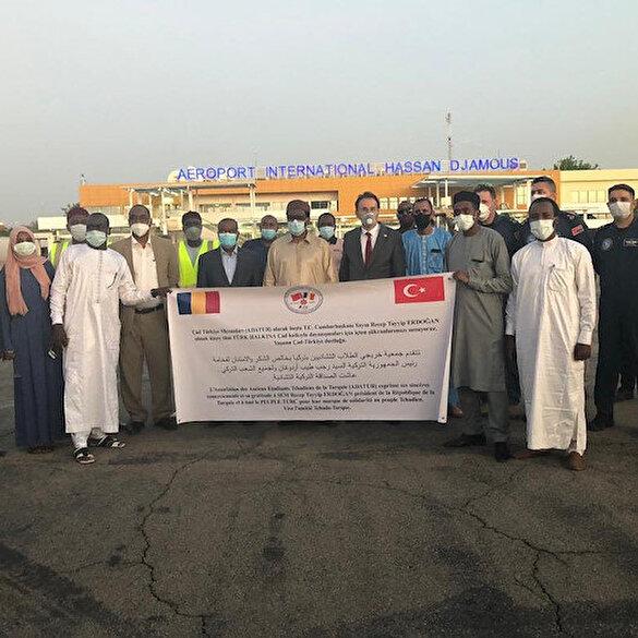 Türkiye'den Çad'a ambulans ve tıbbi malzeme yardımı