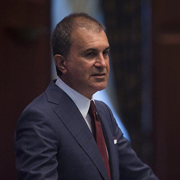 AK Parti Sözcüsü Ömer Çelik: Macron savaş suçu işleyen Hafter'e destek vermektedir