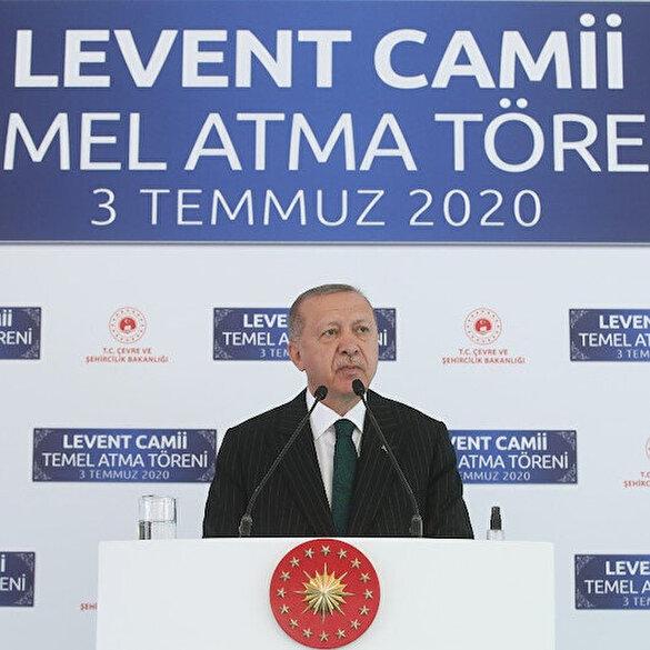 Cumhurbaşkanı Erdoğan'dan 'Ayasofya' açıklaması: Kimsenin bizim ibadethanelerimize karışma hakkı yoktur