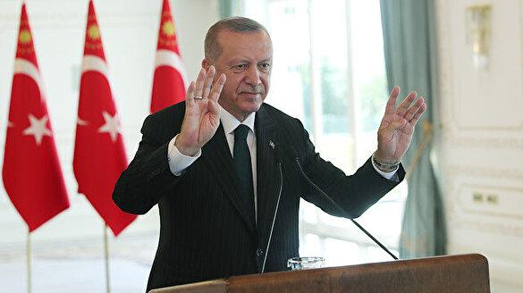 Cumhurbaşkanı Erdoğan, Konya Ovası Sulaması hizmete alma töreninde konuştu