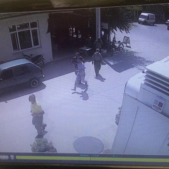 Sakarya'daki havai fişek fabrikasında patlama anında yaşananlar kamerada