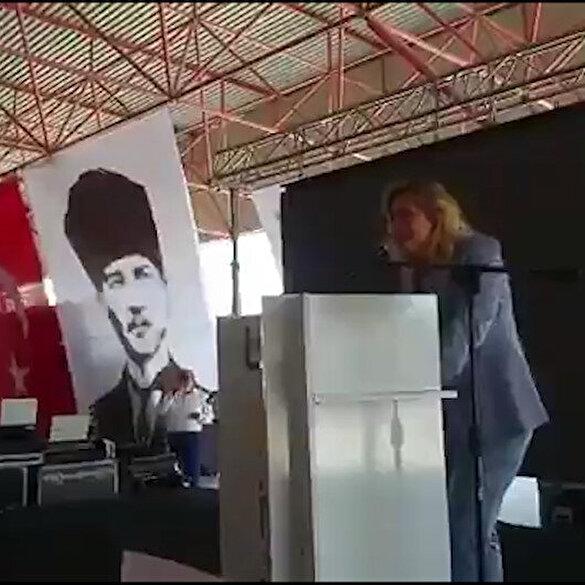 İyi Partili Aylin Cesur'dan skandal sözler: Salda'nın kumunu tek tek alır monte ederiz