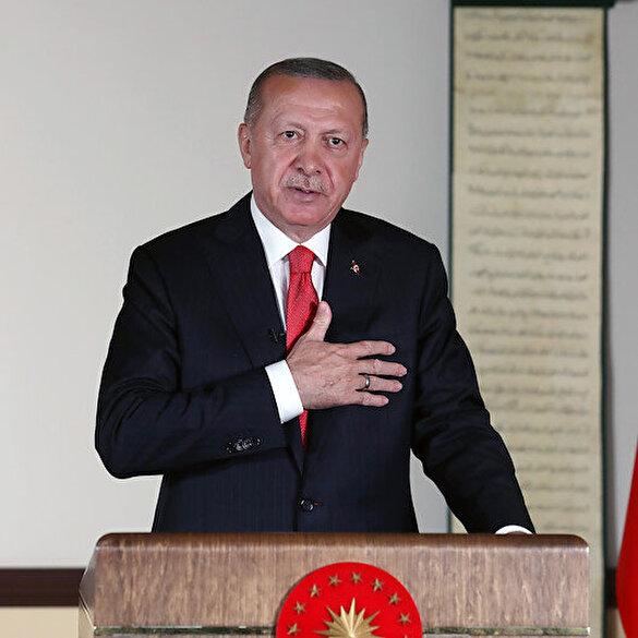 Cumhurbaşkanı Erdoğan müjdeli haberi verdi: Ayasofya Camii'nde ilk namaz 24 Temmuz'da