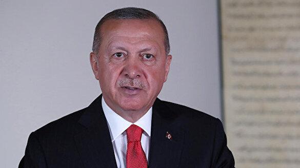 Cumhurbaşkanı Erdoğan'dan yürekleri titreten Ayasofya paylaşımı
