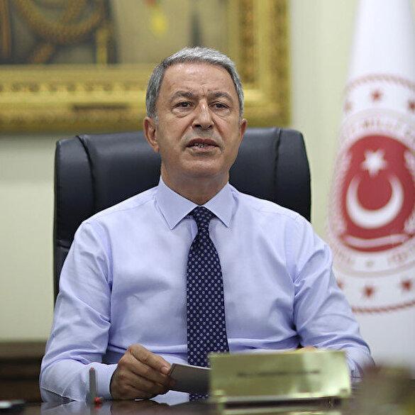 Bakan Akar'dan Azerbaycan'a destek mesajı: Kardeşlerimize var gücümüzle destek olmaya devam edeceğiz