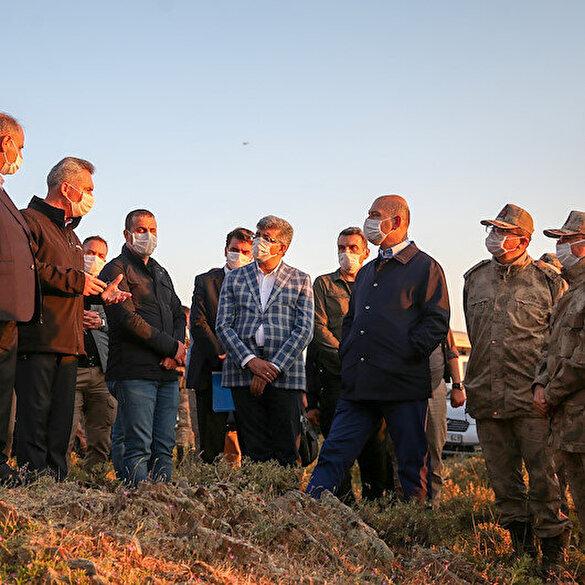 Van'da Artos Dağı'na çarpan insanlı keşif uçağı kırıma uğradı: Bakan Soylu olay yerine gitti