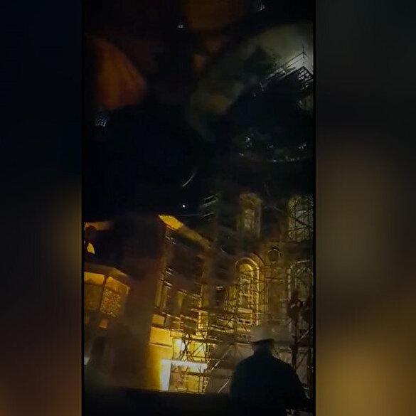 Ayasofya-i Kebir Camii'nde ses denemeleri sırasında okunan Amenarrasulü mest etti