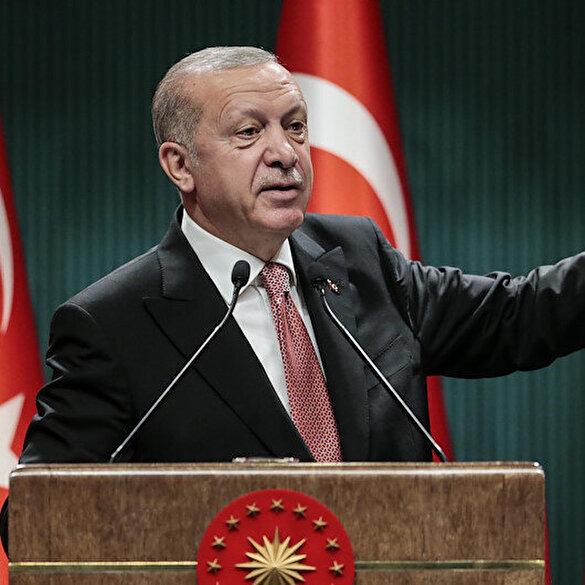 Cumhurbaşkanı Erdoğan'dan gençlere çağrı: Camilerimizi ihmal etmeyin