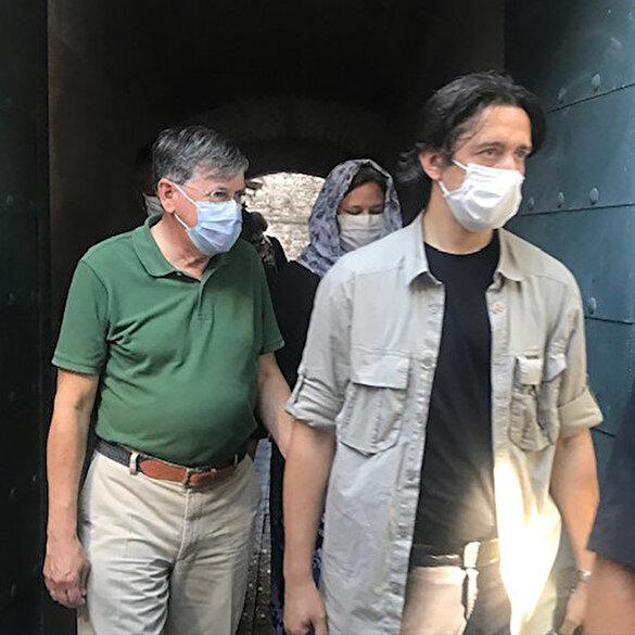 ABD'nin Ankara Büyükelçisi Satterfield, Ayasofya-i Kebir Cami-i Şerifi'ni ziyaret etti