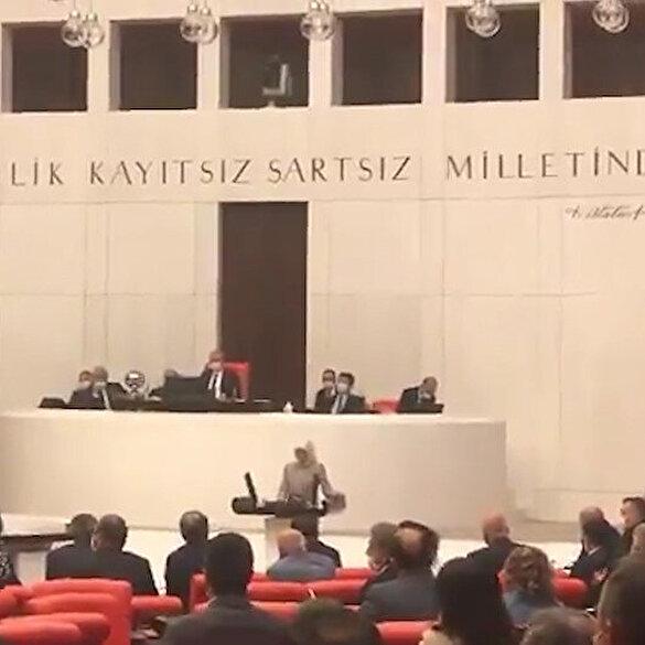 Sözde kadın hakları savunucusu HDP, Türkiye'nin en geç kadın milletvekilini mecliste konuşturmadı