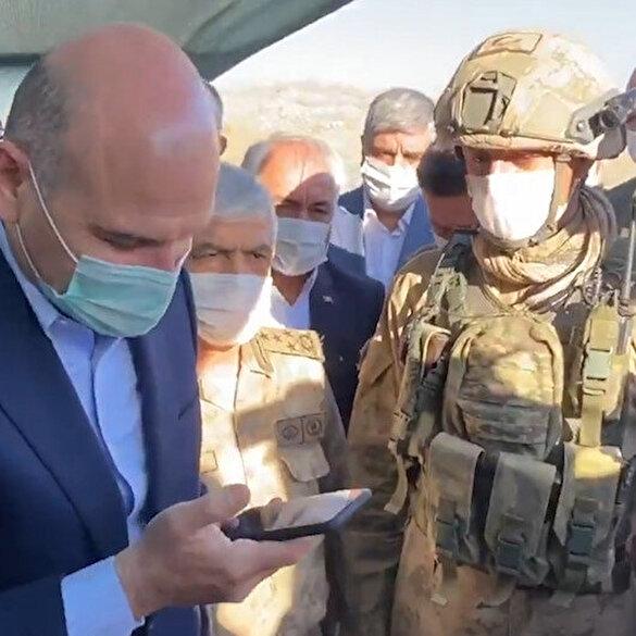 Cumhurbaşkanı Erdoğan Cudi Dağı'ndaki askerlerle bayramlaştı
