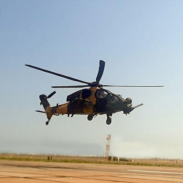 TurAz Kartalı Tatbikatı'nda ATAK helikopterleri de yer aldı