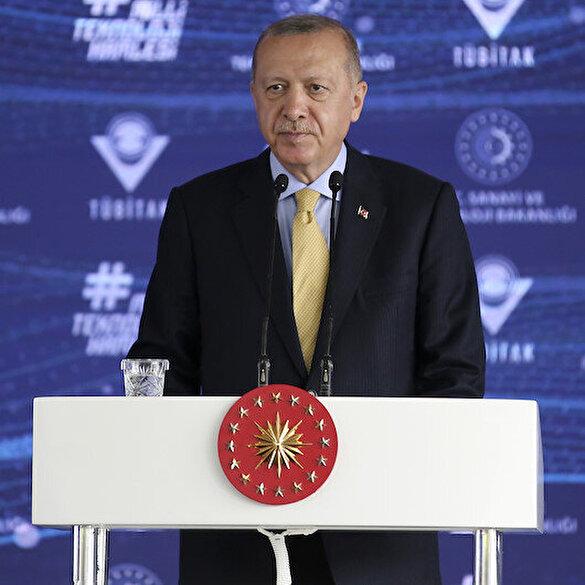 Cumhurbaşkanı Erdoğan: Biz kısa vadeli başarıların değil asırlık hedeflerin peşinde koşuyoruz