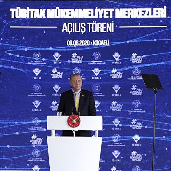 Cumhurbaşkanı Erdoğan'dan aşı müjdesi: Bir adayımız insanlar üzerinde klinik çalışma safhasına geldi