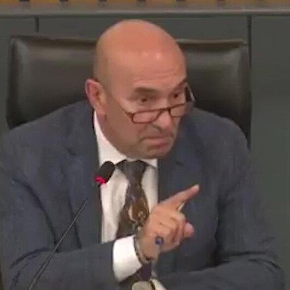 İzmir Büyükşehir Belediye Başkanı Tunç Soyer, AK Parti grubunu salondan atmakla tehdit etti