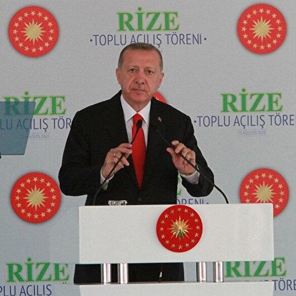 Cumhurbaşkanı Erdoğan'dan Yunanistan'a net mesaj: Bu yaklaşım tarzını devam ettirirlerse gereğini yaparız