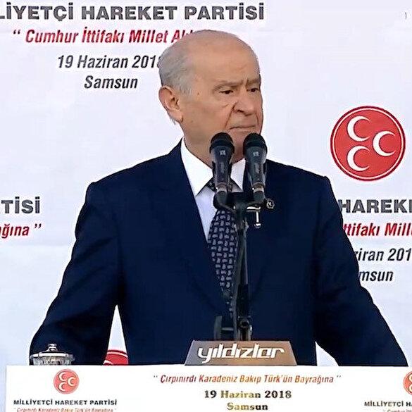 MHP paylaştı: Bugün Karadeniz hakikaten çırpınıyor