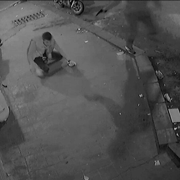 İstanbul'un göbeğinde silahlı çatışma dehşeti kamerada