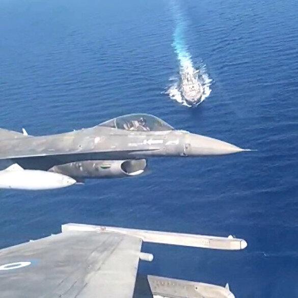 Yunanların Doğu Akdeniz'de Türkiye korkusu: Fransa yetmeyince ABD'yi tatbikata çağırdılar