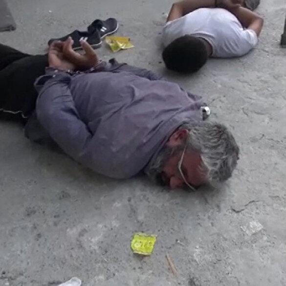 Adana'da gerçekleştirilen operasyonda DEAŞ'ın Türkiye emiri Mahmut Özden böyle yakalandı