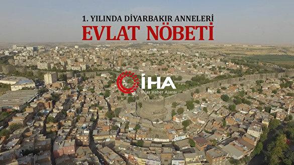 HDP önünde evlat nöbeti tutan Diyarbakır annelerinin belgeseli çekildi