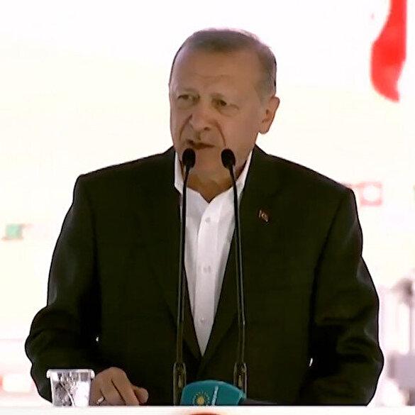 Cumhurbaşkanı Erdoğan: Bu proje ile geleceğin yolunu inşa ettik