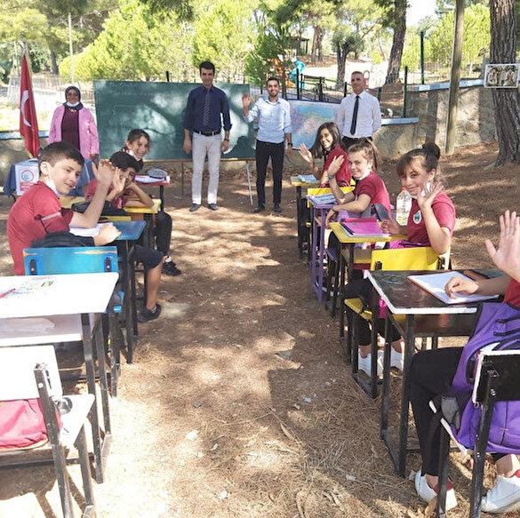 Antalya'da bir okul