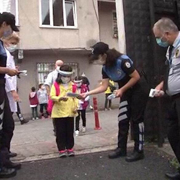 İstanbul'da okullarda yüz yüze eğitim başladı